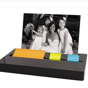 Post it dispenser with photo frame